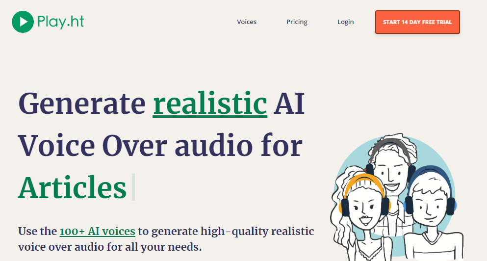 Add AI voices to your blog