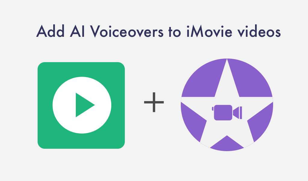 Add AI voiceover to iMovie