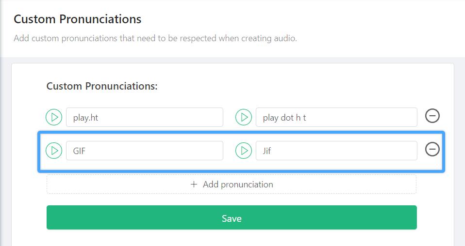 How to Add Custom Pronunciation Step 3.5